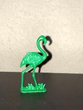 Cracker Jack Nosco Flamingo Stand Up 1950s Green Plastic