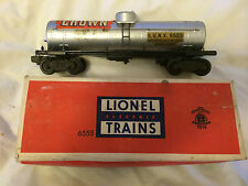 LIONEL TRAIN 6555 TANK CAR IN ORIGINAL BOX