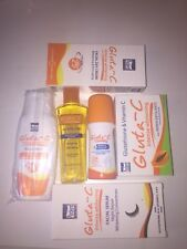 Gluta C skin whitening Lotion, Serum, Soap ,Toner and Roll on for all skin types