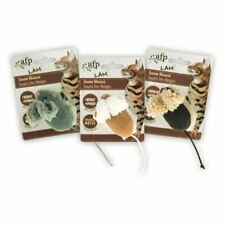 All for Paws 5cm Mouse Catnip Crinkle Play Toy for Cats Kittens Random Colour
