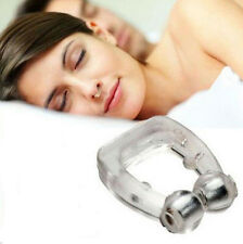 New Silicone Magnetic Anti Snore Stop Snoring Nose Clip Sleep Tray Sleeping Aid.