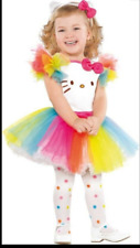 Hello Kitty Infant 0-6 months Costume incl dress, headband, tights - NWT