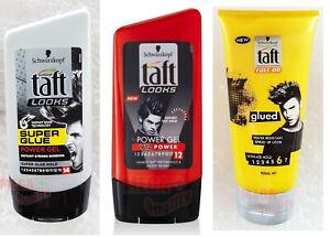 Schwarzkopf Taft Looks 14 SUPER GLUE Power Gel Super Glue Hold Hair Style 150ml.
