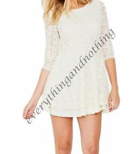 Party Lace Long Sleeve Regular Size Dresses for Women