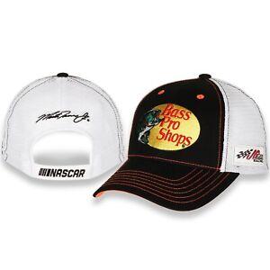 Martin Truex Jr #19 Bass Pro Shops 2021 Sponsor Mesh Trucker Nascar Hat / Cap