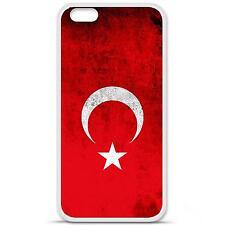 Coque housse étui tpu gel motif drapeau Turquie Iphone 6 Plus