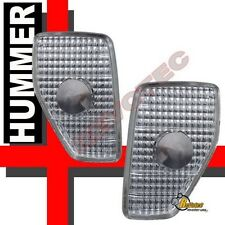 2006 2007 2008 Hummer H3 Euro Clear Corner Side Marker Lights 1 Pair