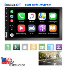 7 Inch 2 DIN Car Stereo Radio HD AUX MP5 FM Player Touch Screen Bluetooth