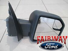 15 thru 17 F-150 OEM Ford Power Adjustable Glass No Turn Signal PASSENGER Mirror