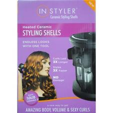 INSTYLER CERAMIC STYLING SHELLS 27 PIECE SET HAIR CURLER WAVER ROLLER IN STYLER