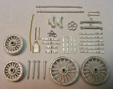 """Circus Wagon Detail Castings Set """"O"""" Scale Cast Pewter By Don Mills Models"""