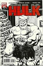 (2008) RED HULK #9 ED McGUINNESS 1:100 VARIANT SKETCH COVER!