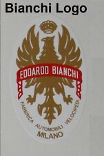 BIANCHI LOGO Bicycle decal!