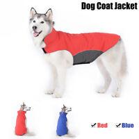 Dog Pet Clothes Winter Warm Coat Waterproof Medium Large Dog Jacket Vest 3XL-5XL