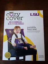 Cozy Cover Convertible High Chair Safety Seat Lsu Tigers New