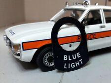 Coche Clásico policía ambulancia bomberos Luz Azul Cuello de etiqueta de conmutador de Lucas