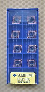 10x SUMITOMO CARBIDE INSERTS CCGT09T302MN-SI  CCGT32.50.5MESI  Grade AC530U