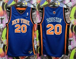 New York Knicks Allan Houston #20 Basketball Jersey Nike 2001 Youth L / Mens S