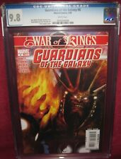 GUARDIANS OF THE GALAXY #8 MARVEL COMICS 2008 2nd series - CGC 9.8