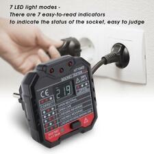 HT106D Rilevatore di Presa Corrente Tester Elettrico Socket Tester Detector RCD