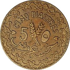 SYRIA 5 piastres 1936 (a) KM#70 .