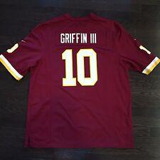 Robert Griffin III RG3 Washington Redskins NFL Nike Jersey Mens Size XL