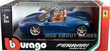 Tobar FIAT 500l 1:24 Scale Metal Diecast Cast Cars Miniatures Red
