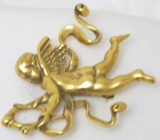 Vintage Metropolitan Museum Cherub Pin from Vatican Collection