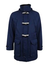 Nautica Weather Resistant Hooded Toggle Coat Navy Mens Large New $298