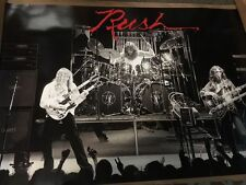 Rush Live in Concert Poster Neil Peart Geddy Lee Alex Lifeson Rush Canada