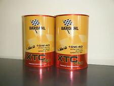 BARDAHL 2 LITRI OLIO MOTORE SINTETICO XTC C60 10W - 40 MB 229.3  RENAULT RN0700