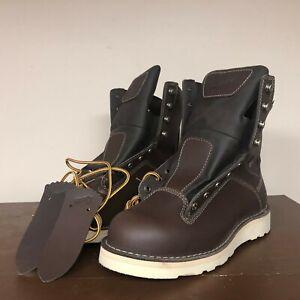 Danner Quarry Men's 9.5 Alloy Toe Waterproof Gore-Tex Work 17329 8-Inch