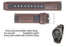 Authentic Timex Expedition Watch Leather Strap NOS Shenmue Ryo Hazuki Sega