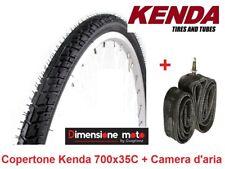 Copertone bici 28 5/8 3/8 KENDA Nero 700 x 35 K 830 Pneumatico Bike