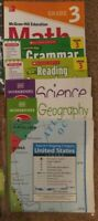 3rd Third Grade Homeschool Curriculum : Math, Reading, Grammar, Science History