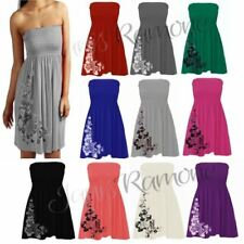 Mini Plus Size Dresses for Women with Strapless/Bandeau