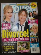 In Touch Magazine Nicole and Keith Divorce Lies Fights Therapy Hell Mar 2018 M26