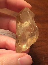 Beautiful Golden Untreated Natural Congo Citrine Crystal Rough