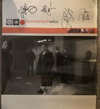 Wilco Summerteeth Tour Poster Signed By Band