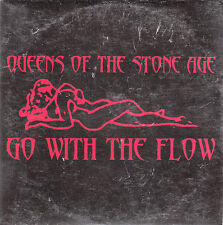 """CD SP 1 T QUEENS OF THE STONE AGE """"GO WITH THE FLOW""""  (PROMO)"""