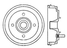 Brake Drum fits 1985-1993 Subaru DL,GL Loyale GL-10  C-TEK BY CENTRIC