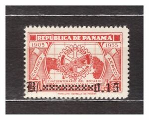 Panama 1955 MNH Rotary Ovptd 1v 37252