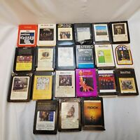 Music Lot Country, Religious, Easy Listening 8-track Cartridge Tapes - Untested