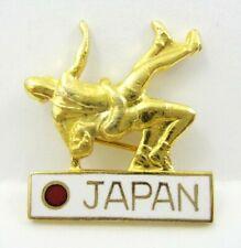 1988 Seoul Olympic Games Japan NOC Wrestling Team Pin Badge