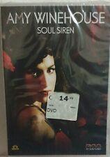 AMY WINEHOUSE DVD SOUL SIREN DVD DOCUMENTARIO NUOVO SIGILLATO