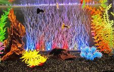 Aquarum Rs Submersible Led Air Curtain light & Air Stone multicolour bubble 46CM
