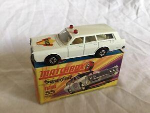 Matchbox Superfast Mercury Police Car  No. 55  SEE FULL DESCRIPTION