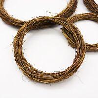 Weedding Artificial Vine Ring Wreath Rattan Wicker Garland Xmas Party Decor UK