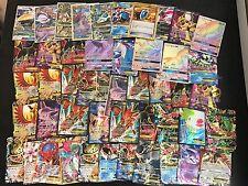 Pokemon TCG 100 Card Lot! Guaranteed GX, EX, Mega or Full Art Card! + PACK!