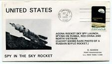 1972 United States Spy In The Sky Cape Canaveral Agena Rocket Sky Spy Launch USA